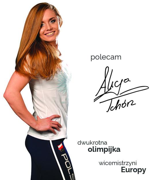 Poleca Alicja Tchórz - dwukrotna olimpijka